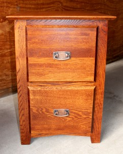 Executive 2 Drawer File Cabinet - $539.00
