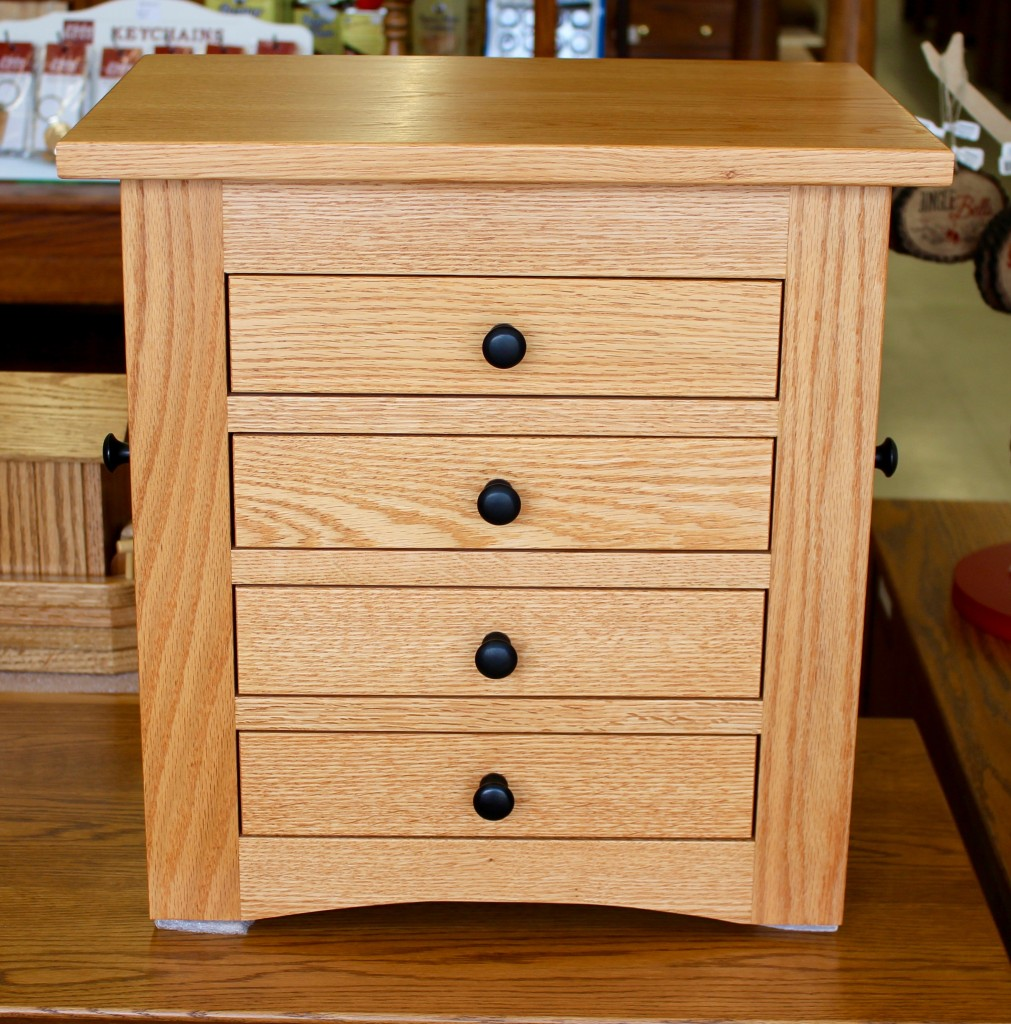 Flush Mission Dresser Top Jewelry Armoire Amish Traditions WV