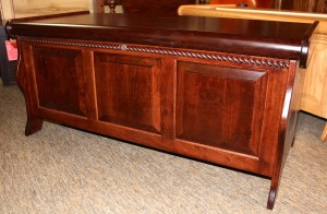 Sleigh Blanket Chest with Rope Twist - $619.00