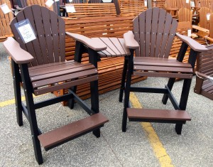 Poly Adirondack Balcony Chair Settee - $729.00