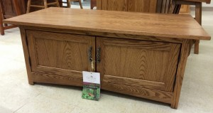 Mission 2-Door Coffee Table - $389.00