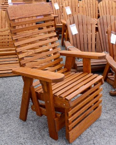 High Back Reclining Chair - $229.00 Stained, $189.00 Unfinished