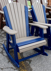 Poly Adirondack Rocking Chair - $329.00