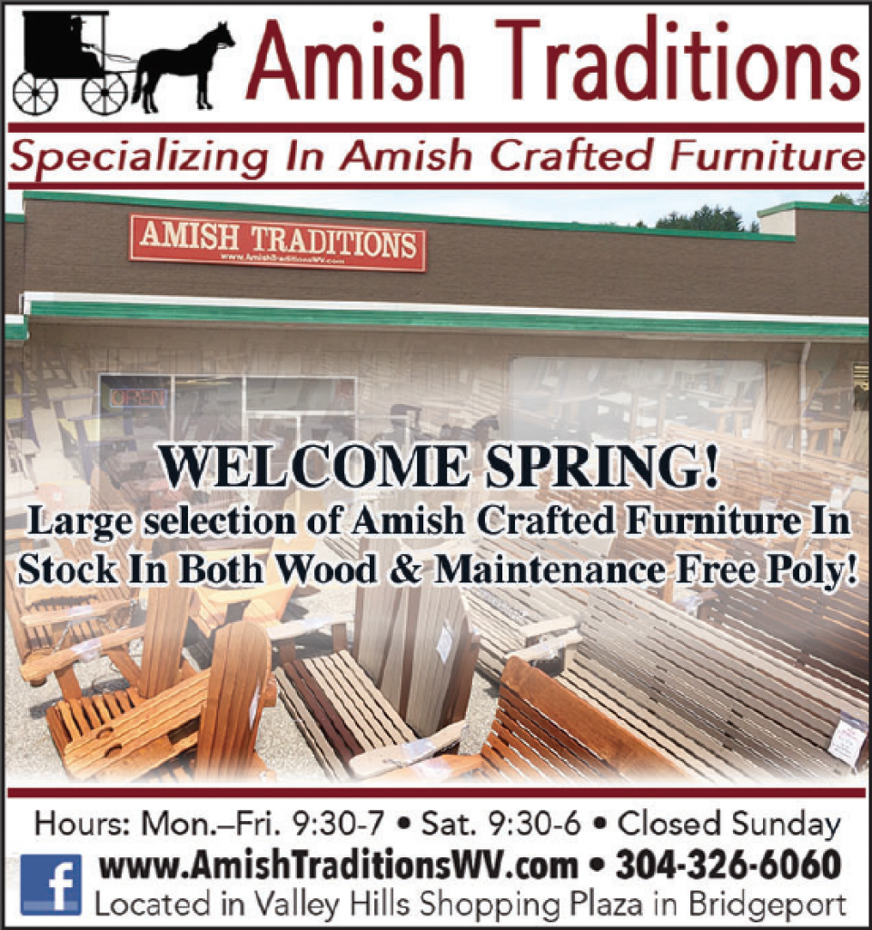 We have a larger than ever selection and display of Amish Crafted Outdoor Furniture at our store for 2016! Whether you prefer Wood or Maintenance Free Poly, stop in and see all of the options in person!