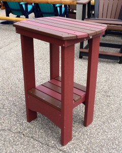 Poly Tall End Table - $199.00