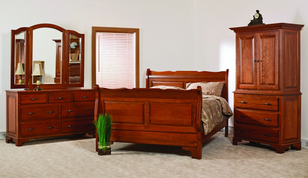 Amish Colonial Bedroom Set
