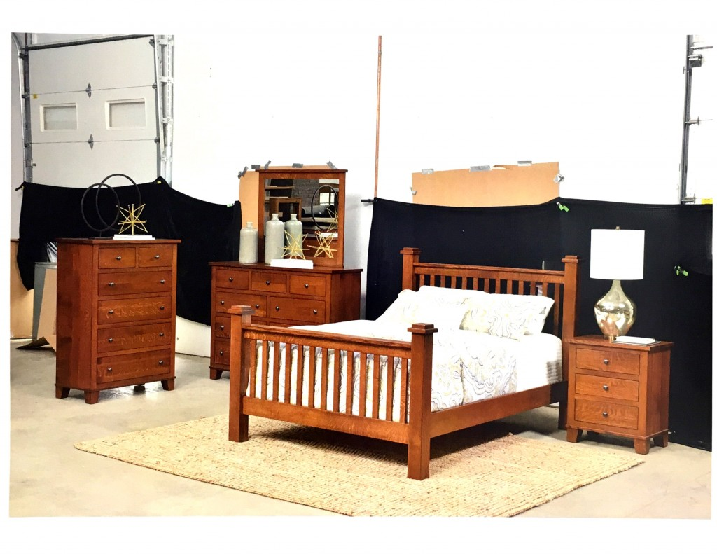 Amish Grand Haven Mission Bedroom Set Sets  Traditions WV
