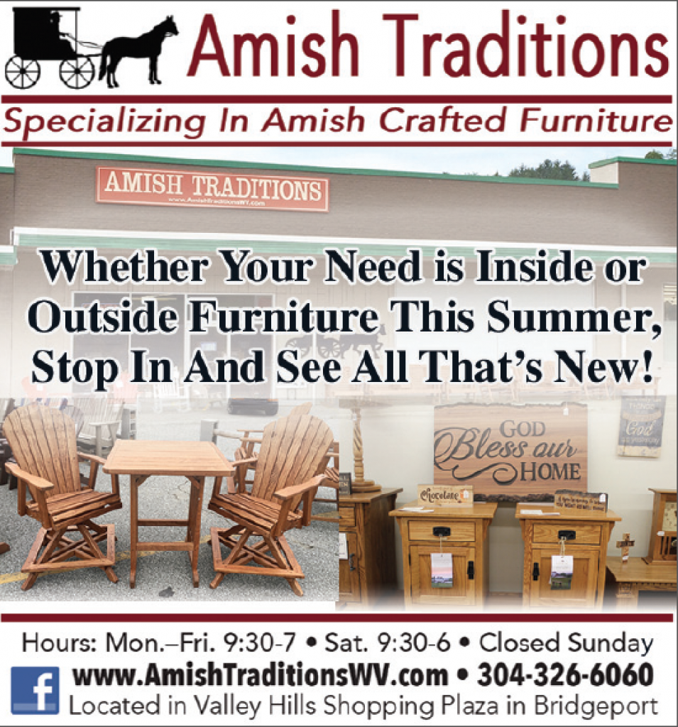 Our Inventory of Amish Crafted Indoor and Outdoor Furniture is Larger Than Ever This Summer! Stop in and see everything in person!