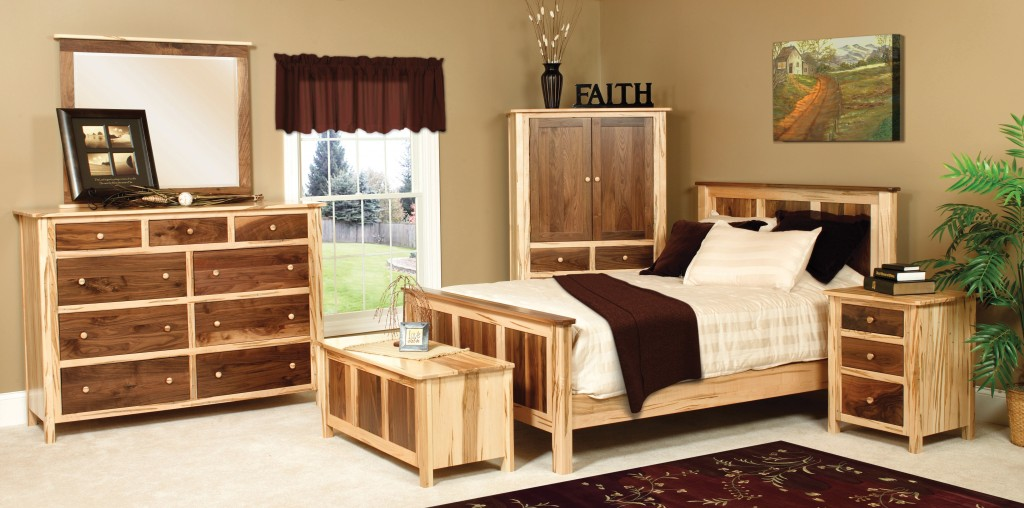 Traditional Suite Room Spread Amish Deluxe Bedroom Set Cornwell Sm