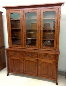 Vienna 3-Door China Hutch - $2,399.00