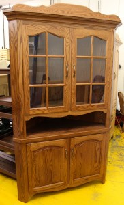 36″ Corner Country Hutch - $1,539.00