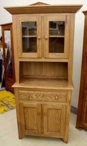 "Shaker 2-Door Hutch [72"" Tall] - $989.00"