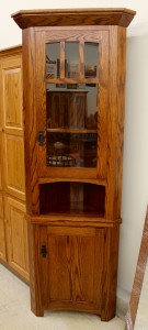 Small 20″ Corner Mission Hutch - $699.00