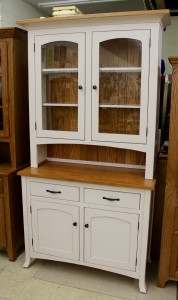 Vienna 2-Door Hutch with Two-Tone Finish - $1,899.00