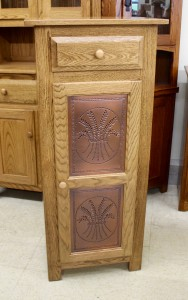 Jelly Cabinet Safe with Copper Wheat Panels - $579.00