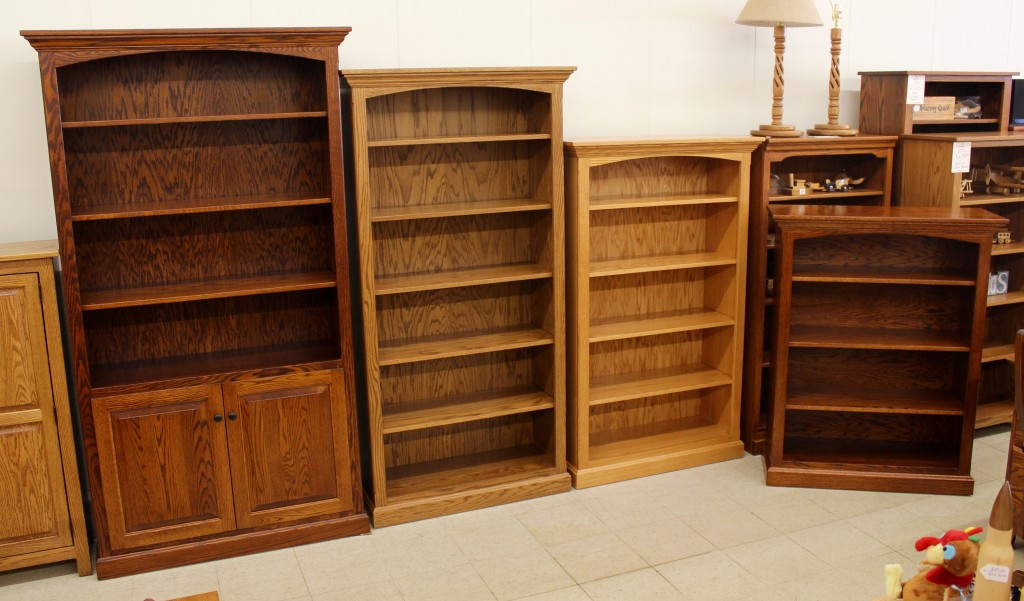 Introducing A Brand New Line of Amish Crafted Bookcase at Amish Traditions! If you are in need of a bookcase or storage cabinet of any size or configuration, let us know your needs!