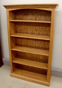 5′ Deluxe Traditional Bookcase [37 1/2″ Wide] - $579.00