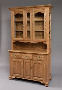 48″ 2 1/2 Door Buckeye Deluxe Hutch - $1,819.00