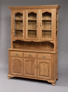 3 Door Buckeye Deluxe Hutch - $2,299.00