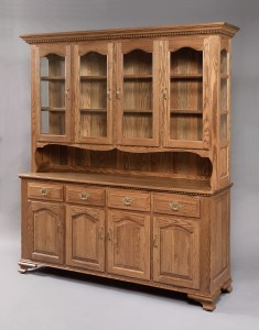 4 Door Buckeye Deluxe Hutch - $2,679.00
