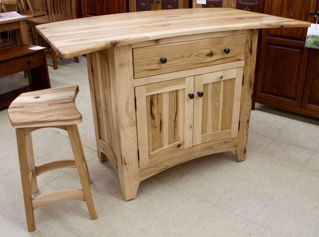 Our page dedicated to our Amish Kitchen Islands has been recently updated with many new pictures, examples and catalog pages to help you consider all of the options from home. Click here to check it all out!