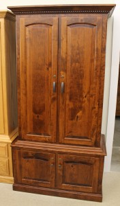 21 Gun Traditional Cabinet in Rustic Cherry - $1,359.00 in Oak Wood, $1,499.00 As Shown in Rustic Cherry