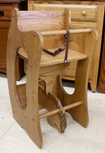 """3 In 1"" High Chair - Hobby Horse - Desk - $239.00"