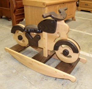 Motorcycle Hobby Horse - $179.00