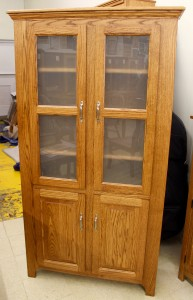 Pantry With Frosted Glass Doors - $1,119.00