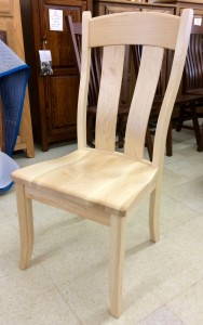 Austin Side Chair in Hard Maple - $259.00
