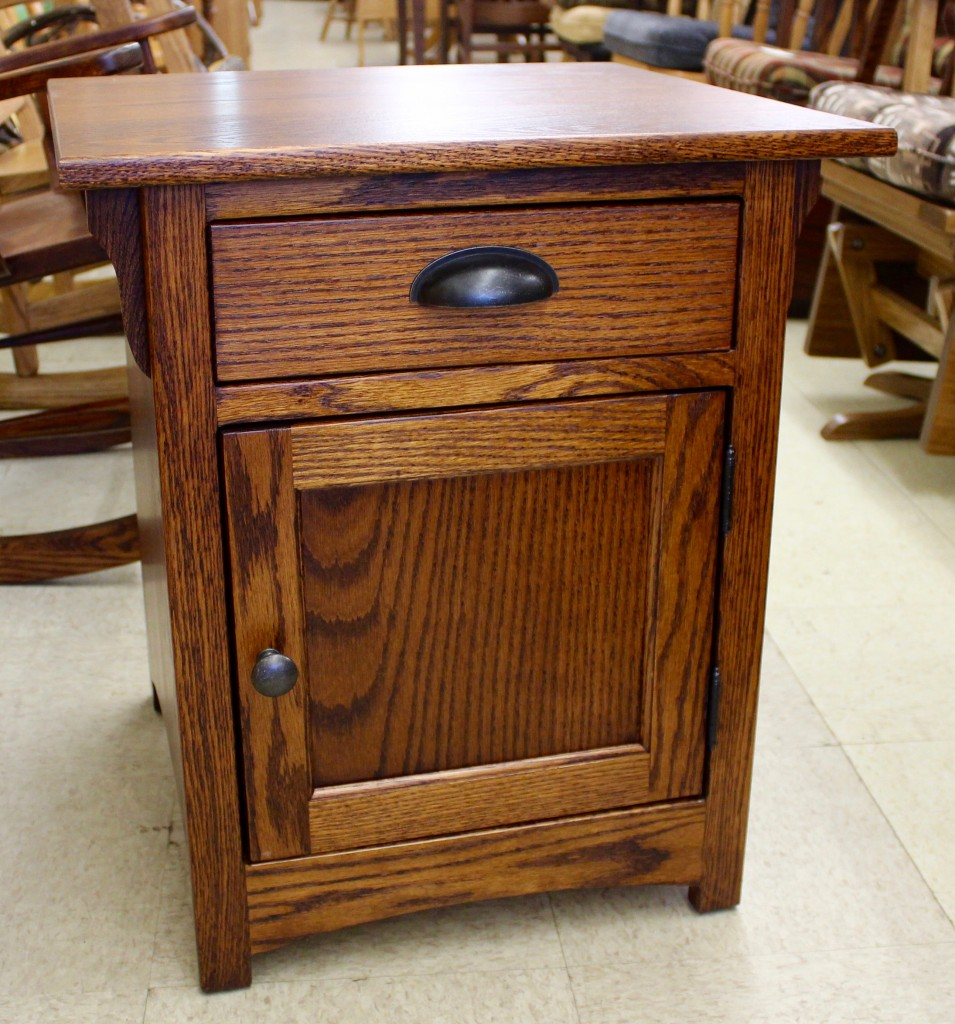 Mission 1 Door End Table Amish Traditions Wv