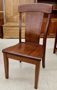 Kowan Side Chair - $239.00 in Oak Wood, $299.00 As Shown in Rustic 1/4 Sawn Oak