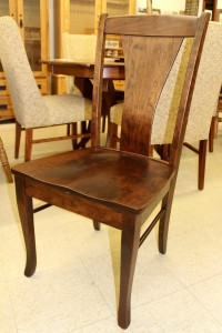 Woodville Side Chair - $199.00 in Oak Wood, $239.00 As Shown in Rustic Cherry