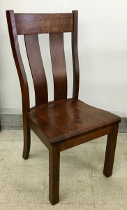 Urbana Side Chair - $199.00 in Oak Wood, $259.00 As Shown in Rustic 1/4 Sawn Oak