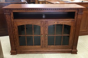 """Deluxe Jumbo 52"""" W x 36"""" H TV Stand with Open VCR - $799.00"""