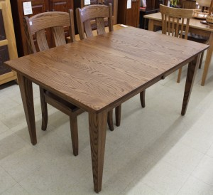 Shaker Farm Table with 18″ Butterfly Leaf - $1,059.00