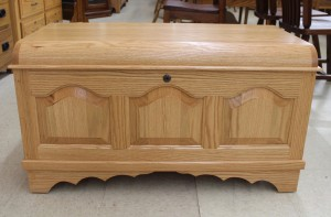 Small Cathedral Raised Panel Blanket Chest - $559.00
