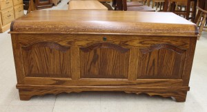 Cathedral Raised Panel Blanket Chest - $639.00