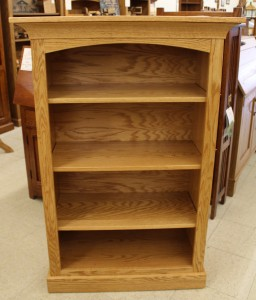 4′ Deluxe Mission Bookcase [32 1/2″ Wide] - $459.00