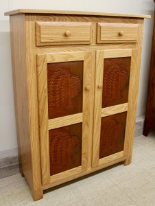 Pie Safe with Willow Tree Panels - $739.00