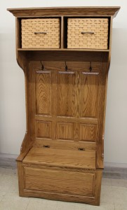 36″ Basket Top Hall Seat - $929.00
