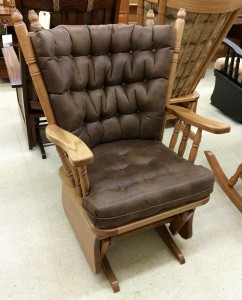 Low Back Traditional Glider - $579.00