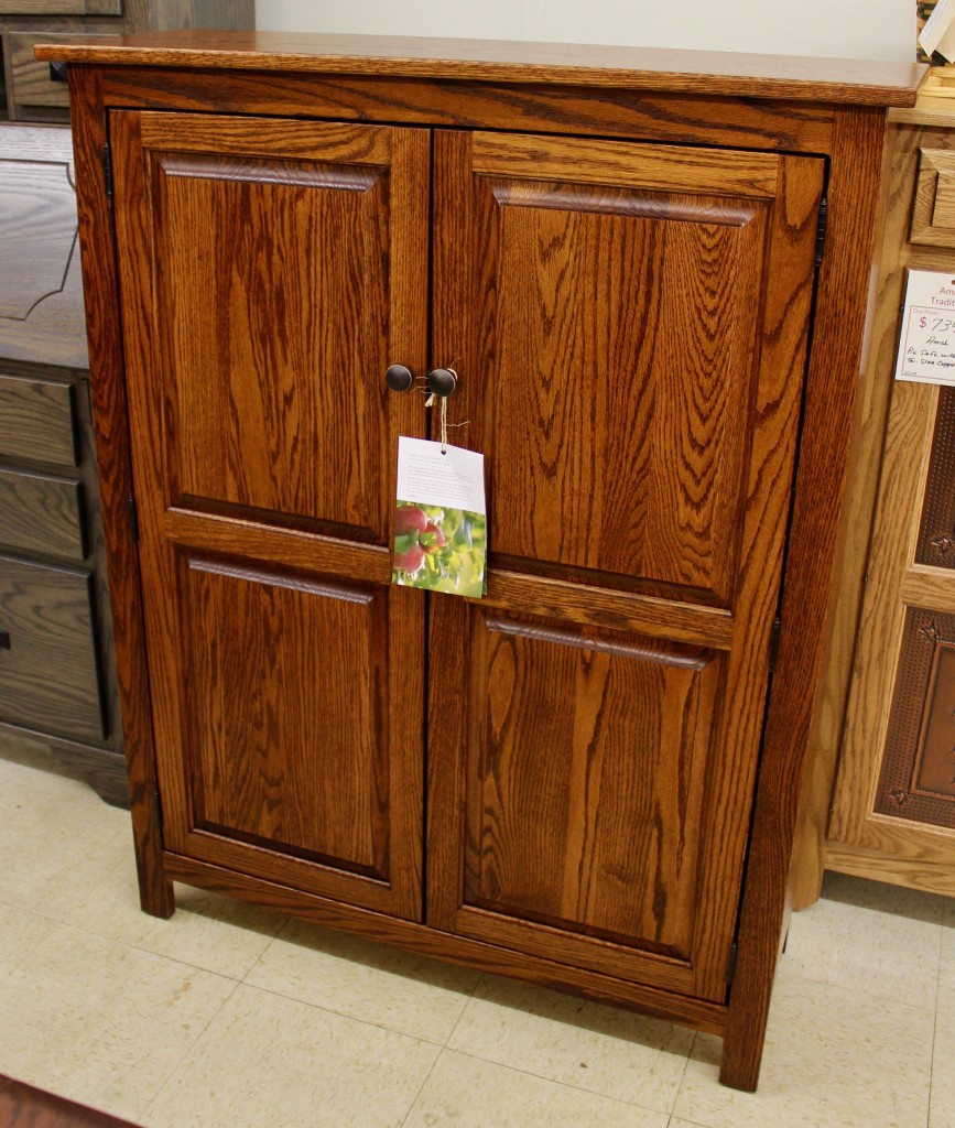 Shaker 2 Door Jelly Cabinet Amish Traditions Wv