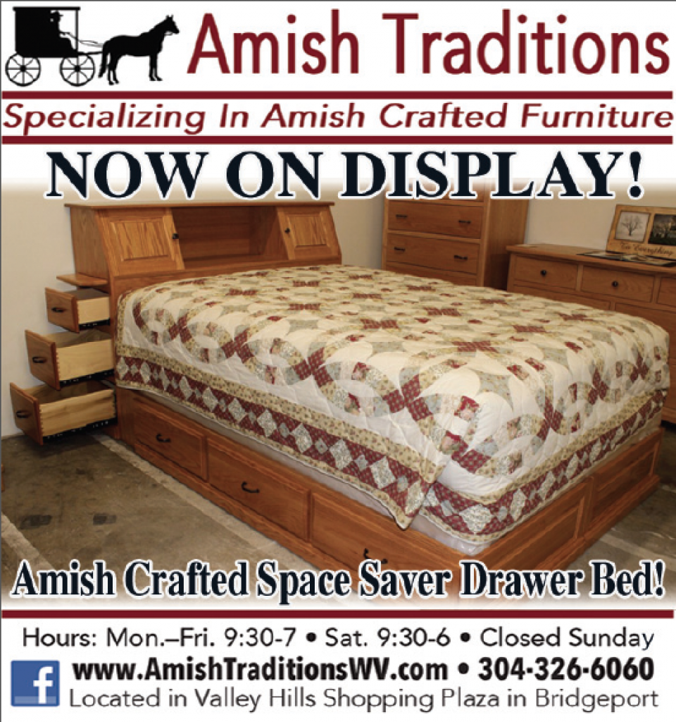 Our Amish Crafted Space Saver Bed Is Currently On Display In Our Store! If  You Are In Need Of Bedroom Furniture, Stop By And See Everything That We  Have On ...