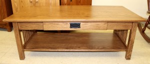 Mission Coffee Table w/ Drawer - $429.00
