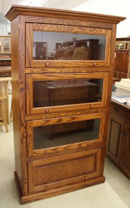 Amish 4-Stack One Piece Barrister Bookcase - $1,059.00