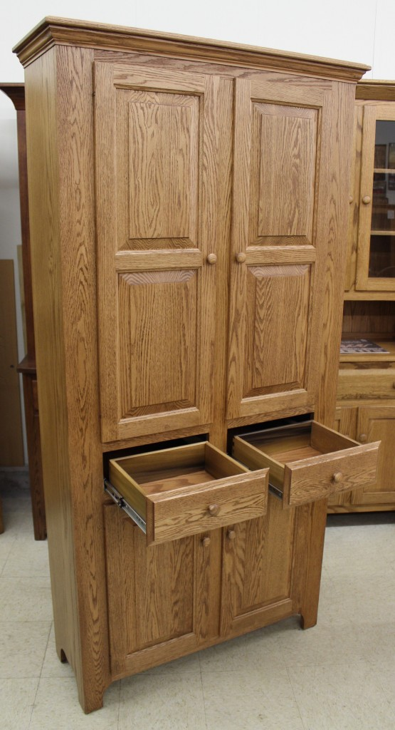 Pantry Cabinet With Drawers Amish Traditions Wv
