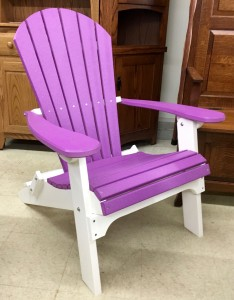Poly Adirondack Folding Chair - $289.00
