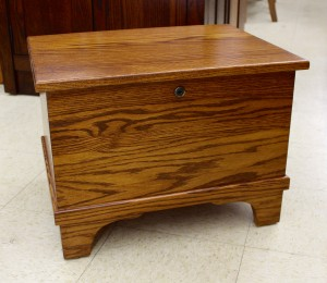 Mini Flat Top Blanket Chest - $199.00