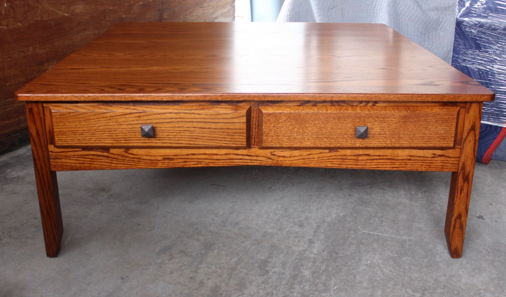 Danville 48 Square Coffee Table Amish Traditions Wv